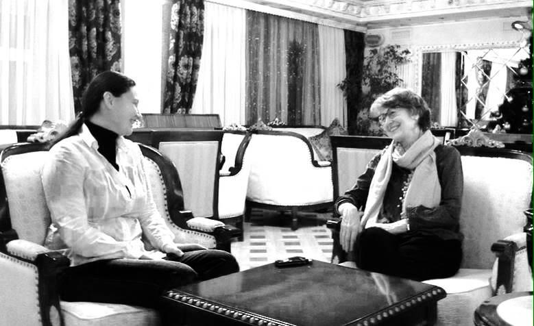 Нина Тимошенко и Сильвия Шох де Нёфорн